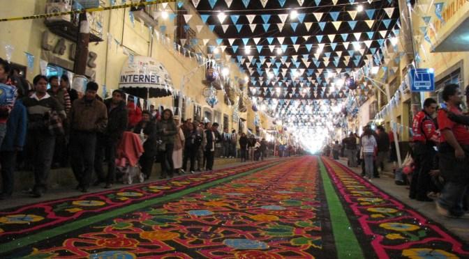 Tapetes y alfombras de Huamantla/Sitio Oficial