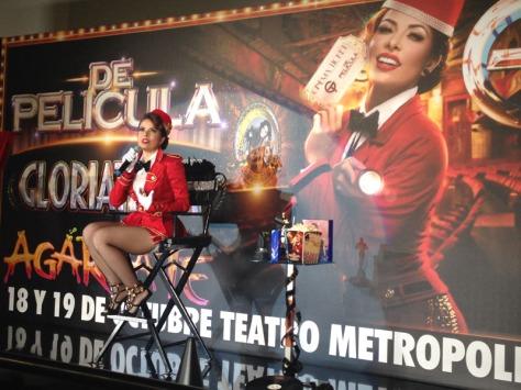 Gloria Trevi. / Foto: Miguel Ángel Nuño.