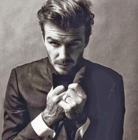 David Beckham/VOGUE París