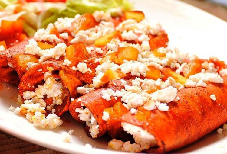 Festejo al sabor de enchiladas en san luis potos for Tipos de encielados