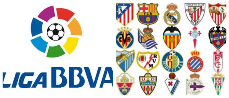 Calendario Liga BBVA/Enterateonline