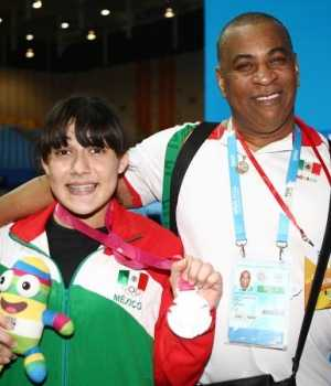 Ana Lilia Durán ganó medalla de plata/Cortesía