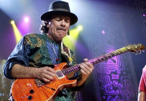 Carlos Santana. / Foto: AP.