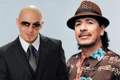 Santana y Pitbull incendiarán el escenario de los Grammy Latino/Facebook