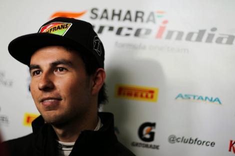 Sergio Pérez. / Foto: Kaiser Sports.