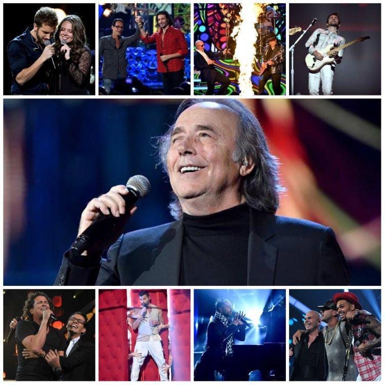Ello llenaron de ritmo la noche/Sitio Oficial Latin Grammy