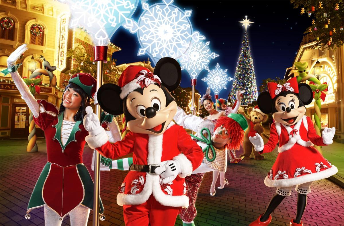 Disneyland empieza los festejos navideños