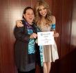 Thalia recibe reconocimiento de la UNICEF. / Foto: Sony Music.