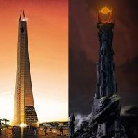 Torre más alta de África, inspirada en fortaleza de Sauron