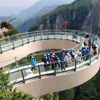 China tiene el mirador más largo del mundo