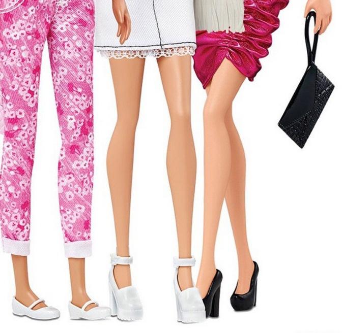 Barbie con pie plano. / Foto: Mattel.
