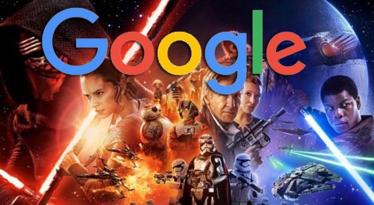 Google y Star Wars. / Foto: EnterateOnline.