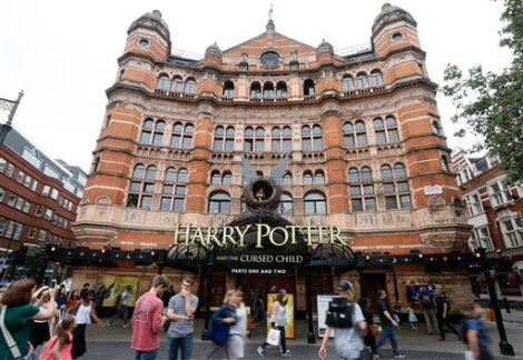 Harry Potter and the Cursed Child/AP