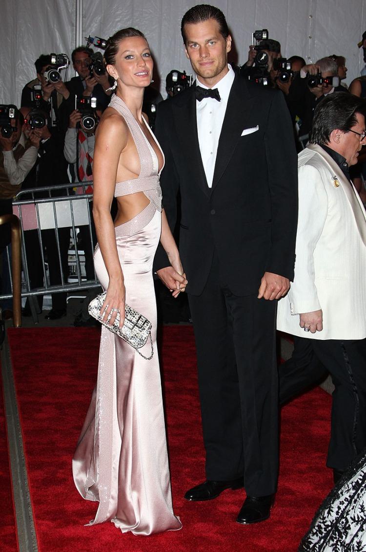 Gisele Bundchen y Tom Brady/Getty Images