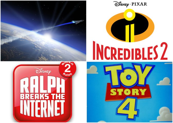 Disney y Pixar dieron a conocer adelantos y fechas
