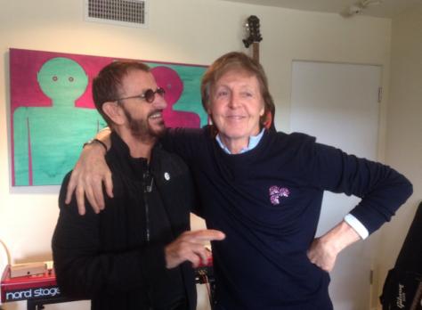 Ringo Starr y Paul McCartney/Facebook Oficial