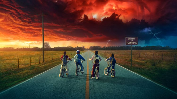 Stranger Things/Sitio Oficial
