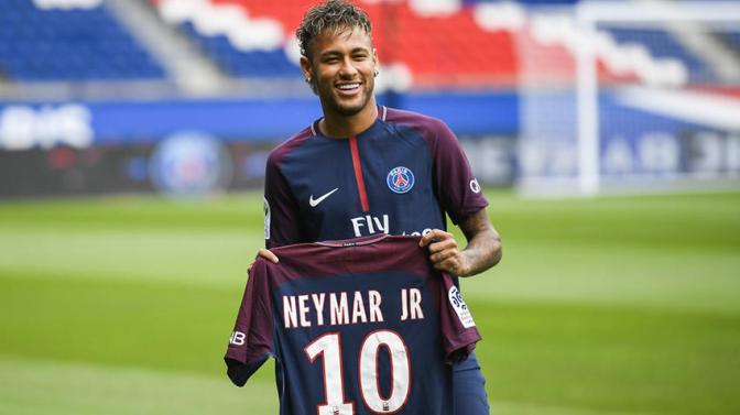 El PSG presentó a Neymar