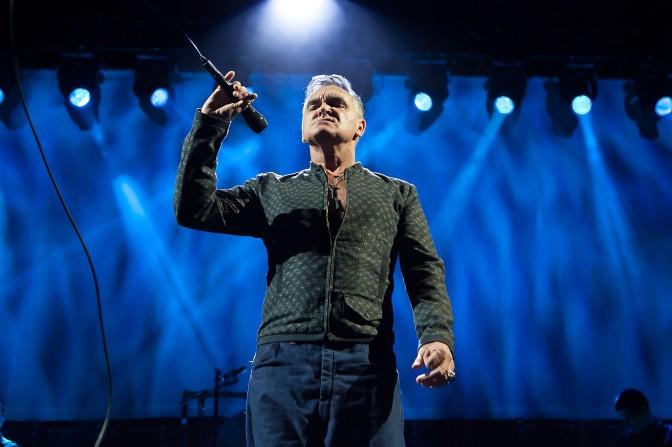 Morrissey dio a conocer nuevo disco