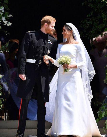 Boda del príncipe Harry y Meghan Markle. / Foto: Instagram.
