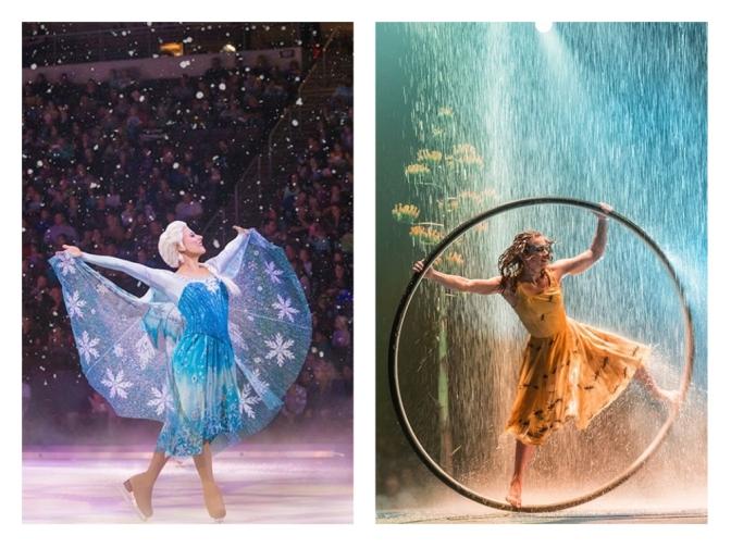 'Disney On Ice' y 'Luzia', dos grandes espectáculos que te reconectarán con la imaginación