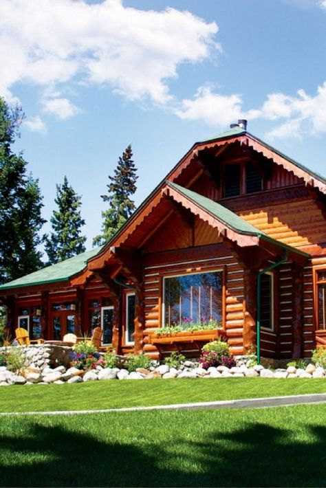Cabaña en Fairmont Jasper Park Lodge. / Foto: Pinterest.