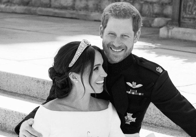 La mejor foto de la boda del príncipe Harry y Meghan Markle es…