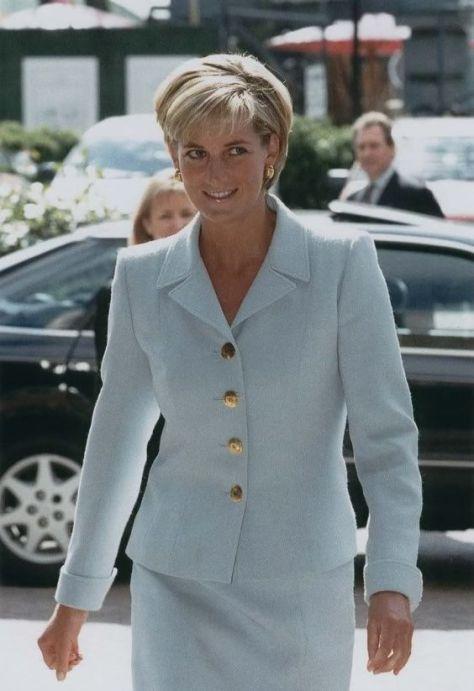 Princesa Diana. / Foto: Pinterest.